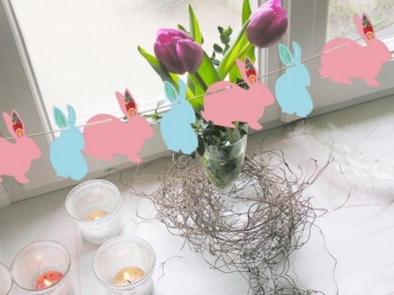velikonoční dekorace fotografie