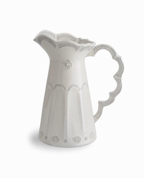italian-lace-design-ceramic-unique-pitchers-600x738