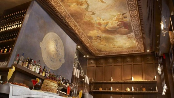 Restaurant-Bar-Fresco-ceiling-painting-designs-582x329